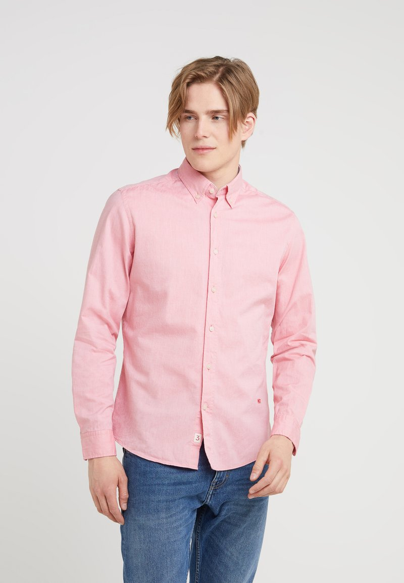 HKT by Hackett - PINPOINT OXFORD - Camisa - red