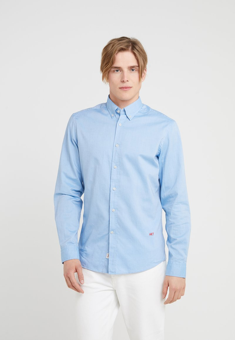 HKT by Hackett - PINPOINT OXFORD - Camisa - blue