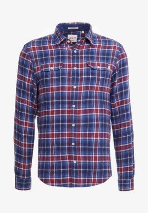 Shirt - navy/red