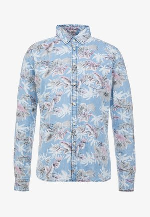 CHAM PALM TREE - Skjorter - chambray