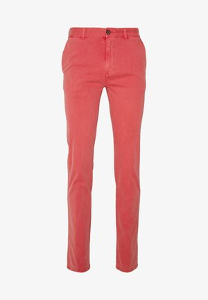 DYE STRETCH - Chinos - red