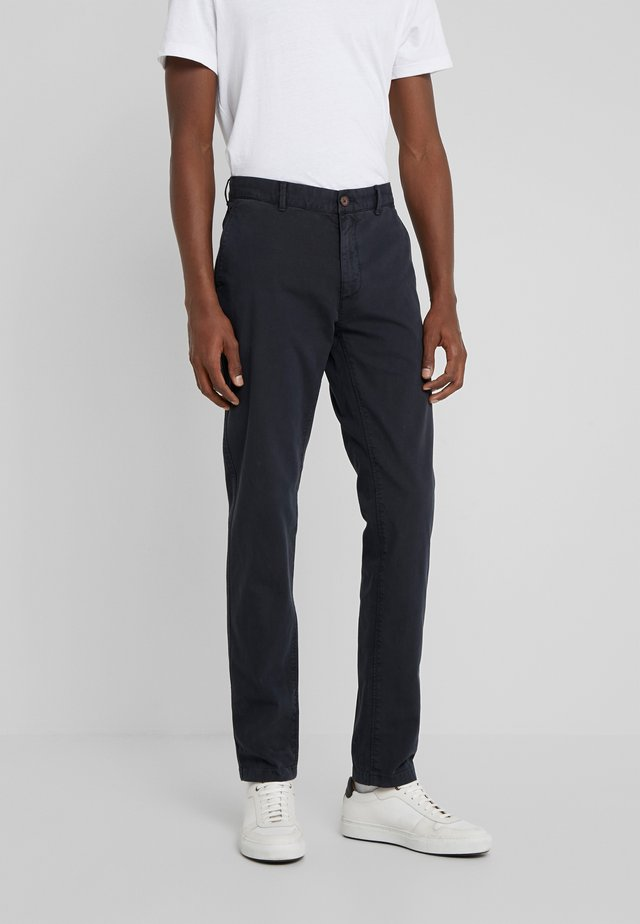 DYE STRETCH - Chinos - navy