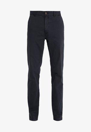 DYE STRETCH - Chino kalhoty - navy