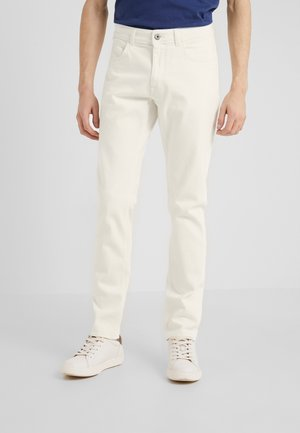 Jeansy Slim Fit - optic white