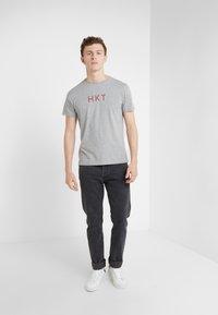 HKT by Hackett - T-Shirt print - grey marl - 1