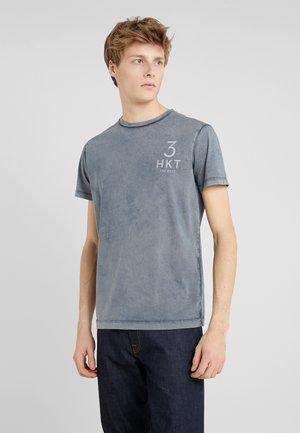TEE - Print T-shirt - sea blue
