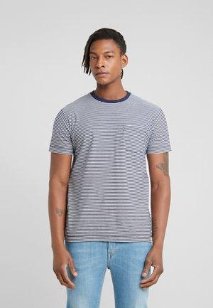 T-shirt print - sea blue