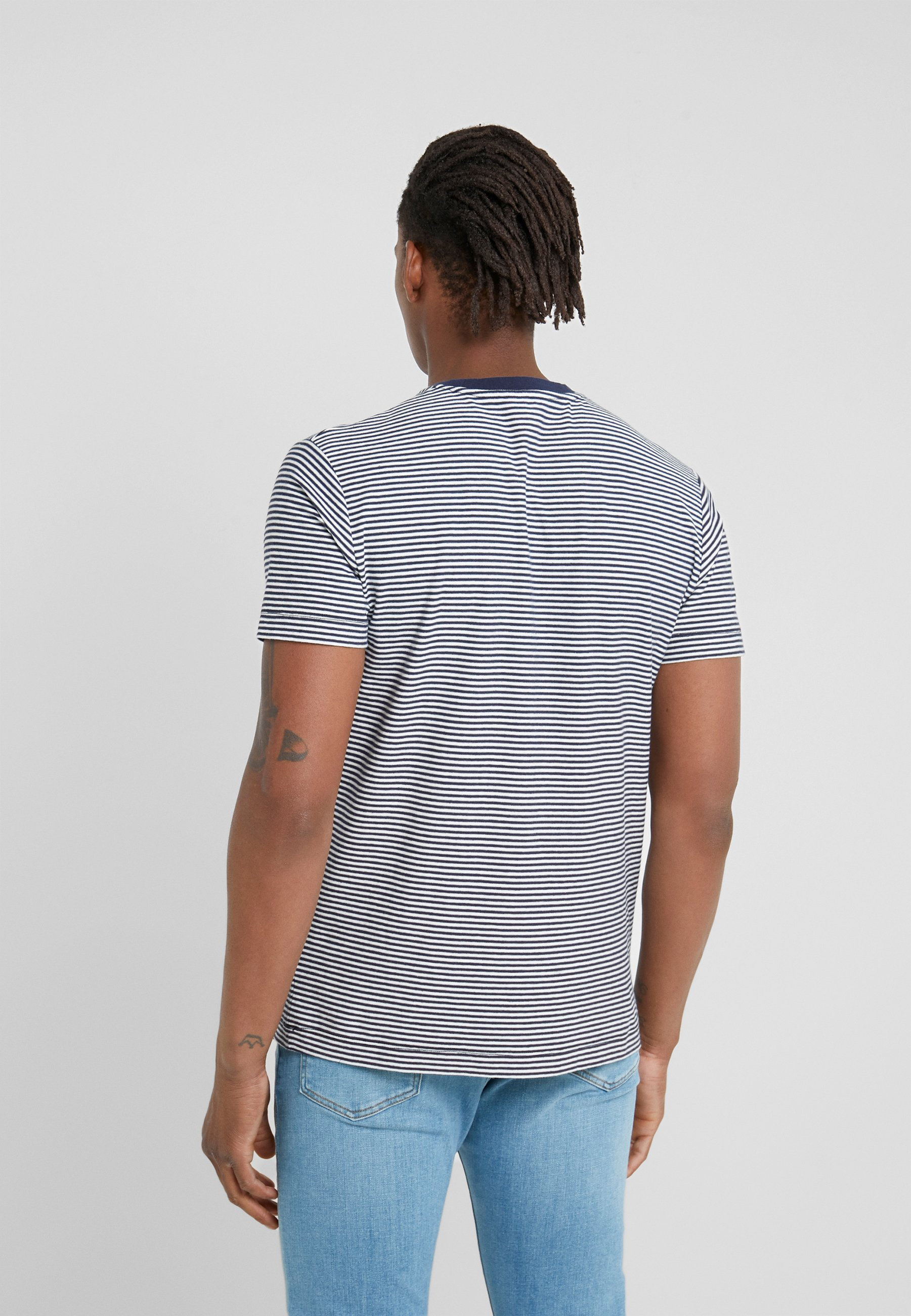 HKT by Hackett T-shirt z nadrukiem - sea blue