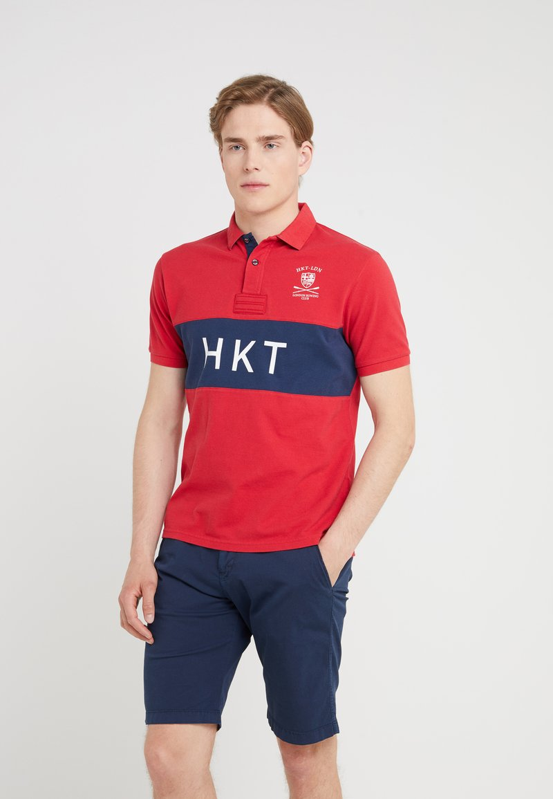HKT by Hackett - PANEL - Poloshirts - red