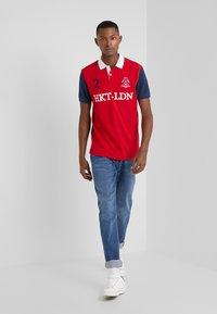 HKT by Hackett - MULTI - Polo shirt - red/navy - 1