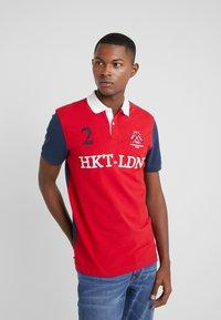 HKT by Hackett - MULTI - Polo shirt - red/navy - 0