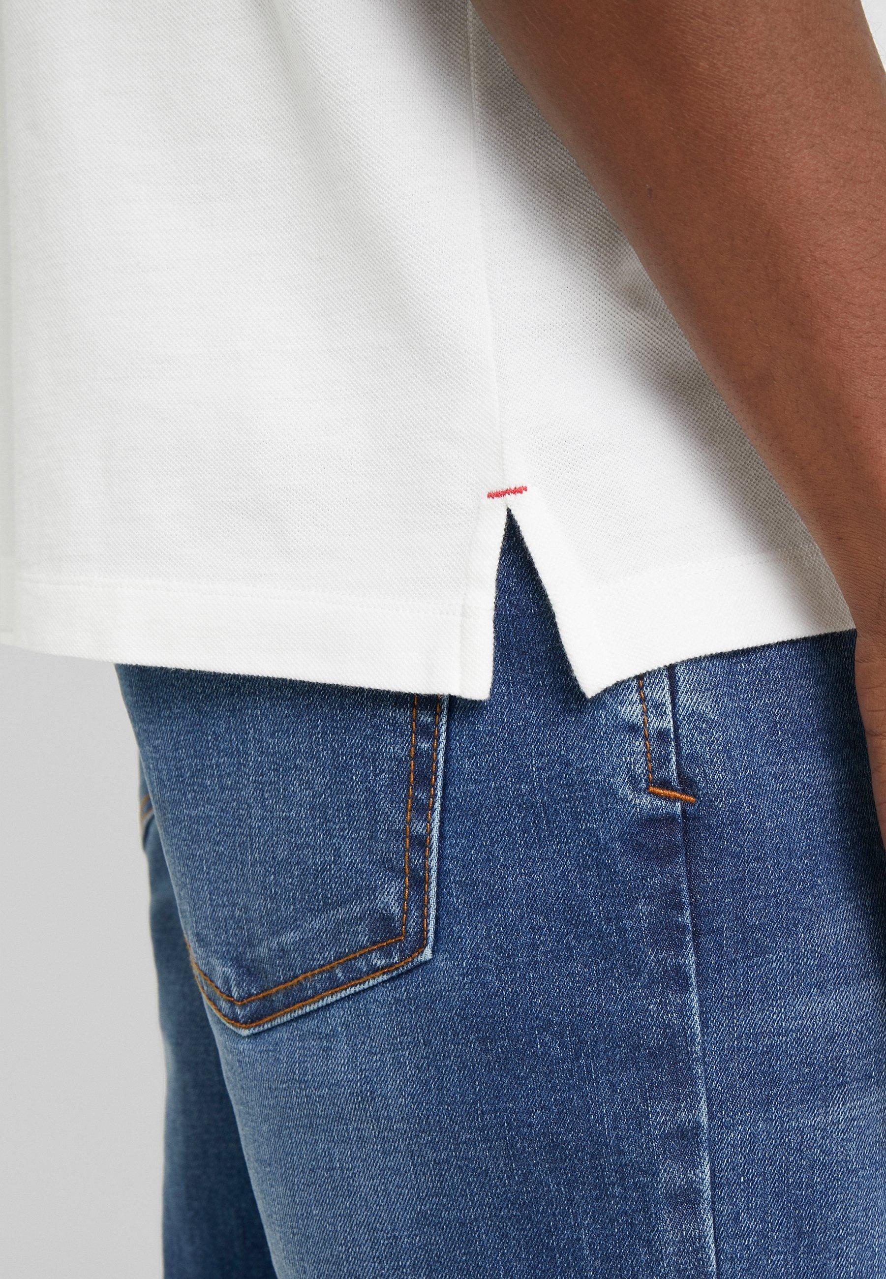 Hkt By Hackett Slim Fit - Polo Shirt White UK
