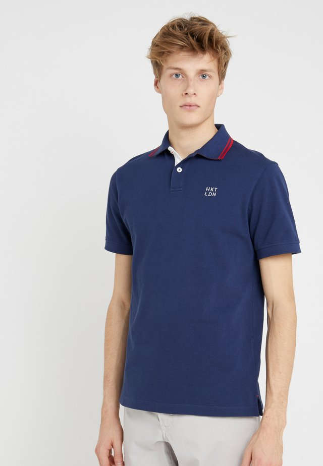 SLIM FIT - Polo - ink
