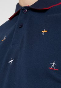 HKT by Hackett - SLIM FIT - Poloshirt - sea blue