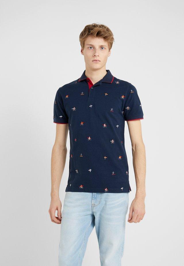 SLIM FIT - Poloshirts - sea blue