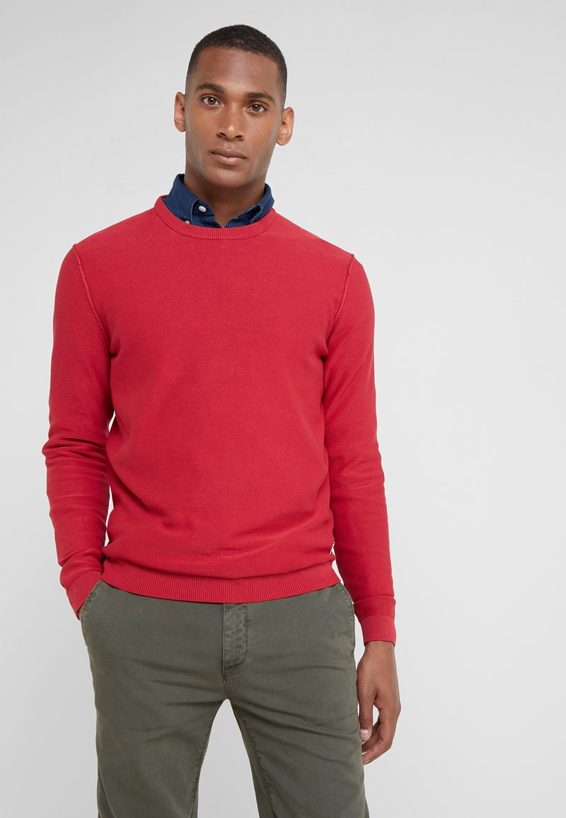 HKT by Hackett - ESSENTIAL CREW - Maglione - patriot red