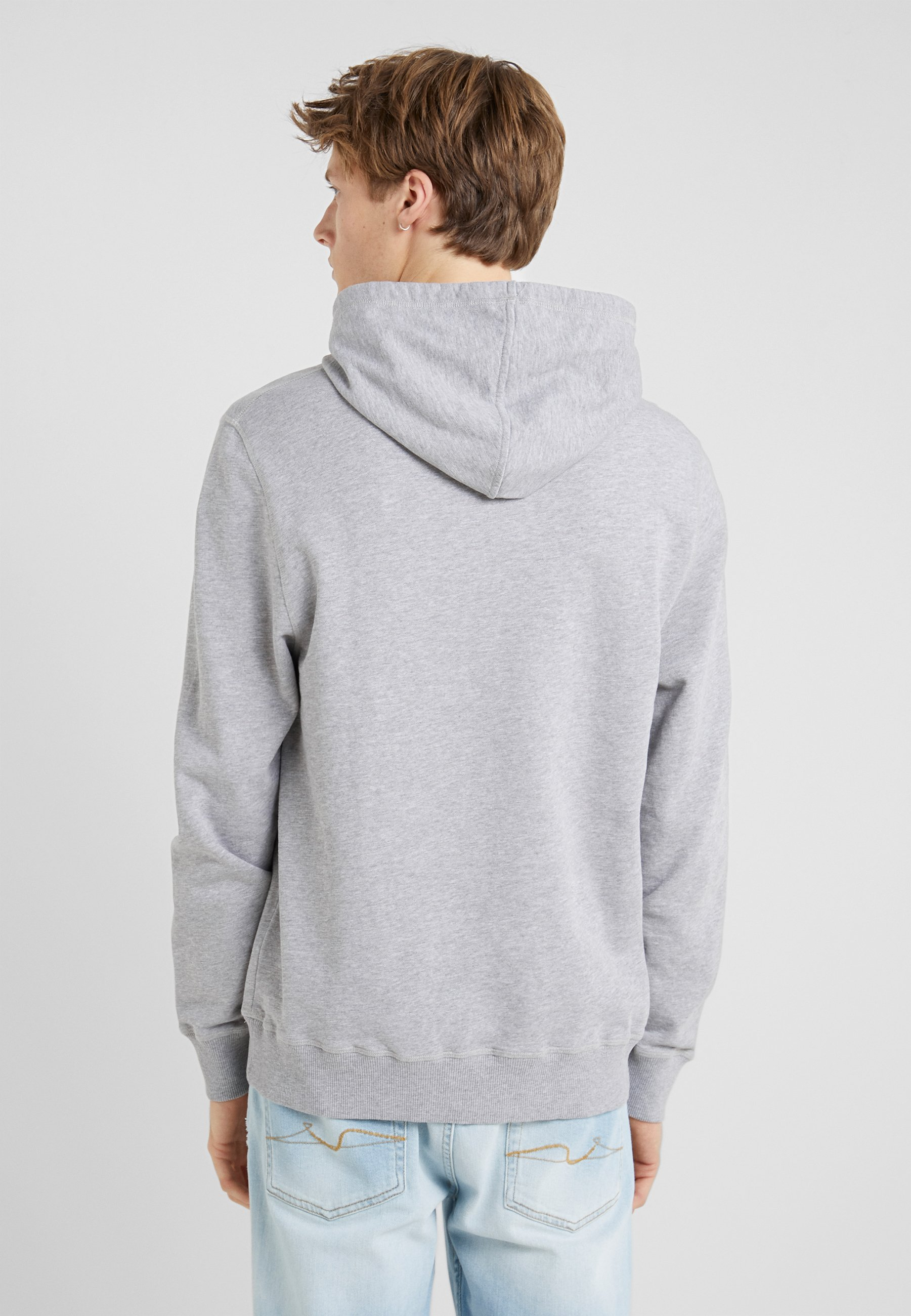 Hkt By Hackett Hoody - Luvtröja Grey Marl