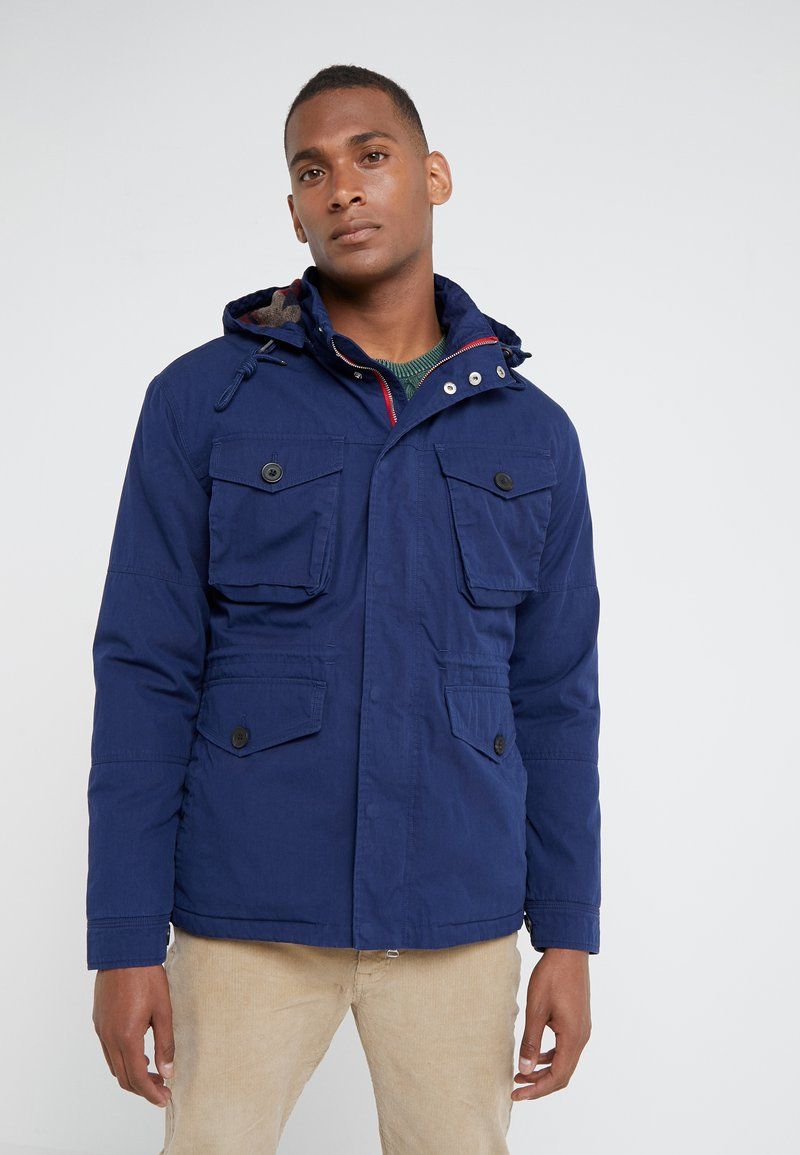 HKT by Hackett - NEW CRUISER JACKET - Chaqueta de entretiempo - ink