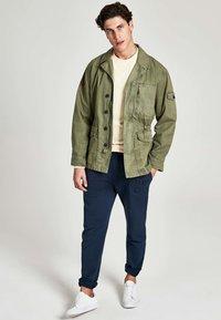 HKT by Hackett - Denim jacket - khaki - 1