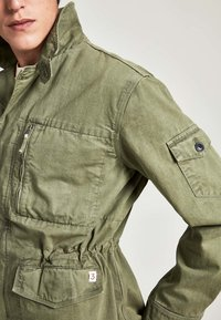 HKT by Hackett - Denim jacket - khaki - 3