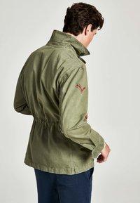 HKT by Hackett - Denim jacket - khaki - 2