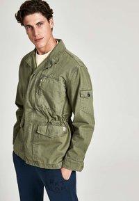HKT by Hackett - Denim jacket - khaki - 0