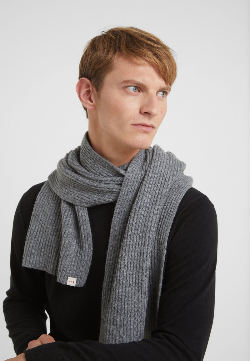 HKT by Hackett - SCARF - Sjal - grey