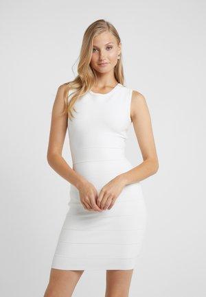 DRESS  - Robe fourreau - alabaster