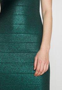 Hervé Léger - MOCK NECK DRESS - Shift dress - green - 6