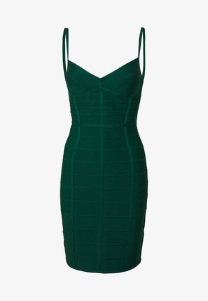 DRESS WITH BONING - Cocktail dress / Party dress - bright elm