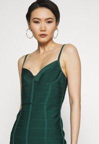 Hervé Léger - DRESS WITH BONING - Sukienka koktajlowa - bright elm - 3