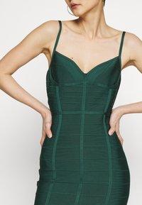 Hervé Léger - DRESS WITH BONING - Sukienka koktajlowa - bright elm - 5