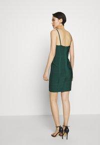 Hervé Léger - DRESS WITH BONING - Sukienka koktajlowa - bright elm - 2