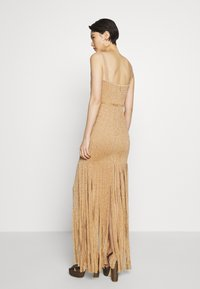Hervé Léger - FRINGE GOWN - Occasion wear - gold/combo - 2