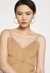 Hervé Léger - FRINGE GOWN - Occasion wear - gold/combo - 5