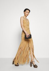 Hervé Léger - FRINGE GOWN - Occasion wear - gold/combo - 1