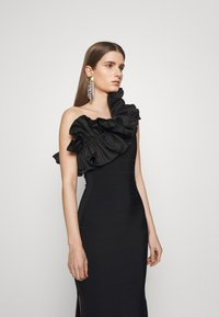 Hervé Léger - RUFFLE DRESS - Abito da sera - black - 5