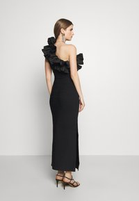 Hervé Léger - RUFFLE DRESS - Abito da sera - black - 2
