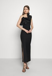 Hervé Léger - RUFFLE DRESS - Abito da sera - black - 1