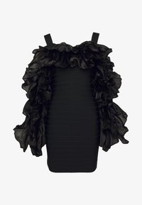 Hervé Léger - RUFFLE SLEEVE MINI - Cocktail dress / Party dress - black - 5