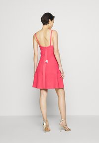 Hervé Léger - Sukienka z dżerseju - burnt rose - 2