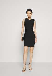 Hervé Léger - NEW ICON DRESS - Sukienka etui - black - 1