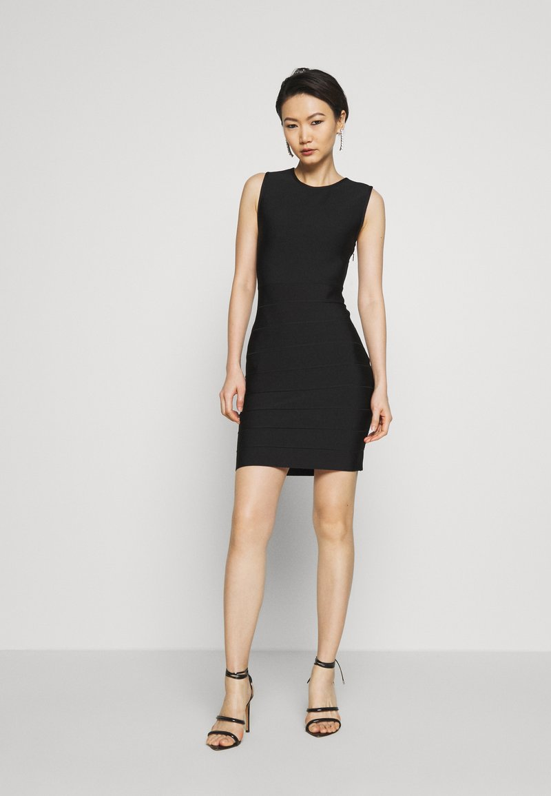 Hervé Léger - NEW ICON DRESS - Sukienka etui - black