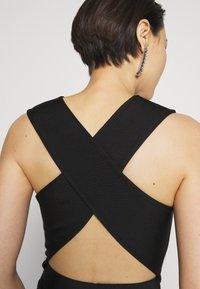 Hervé Léger - NEW ICON DRESS - Sukienka etui - black - 5