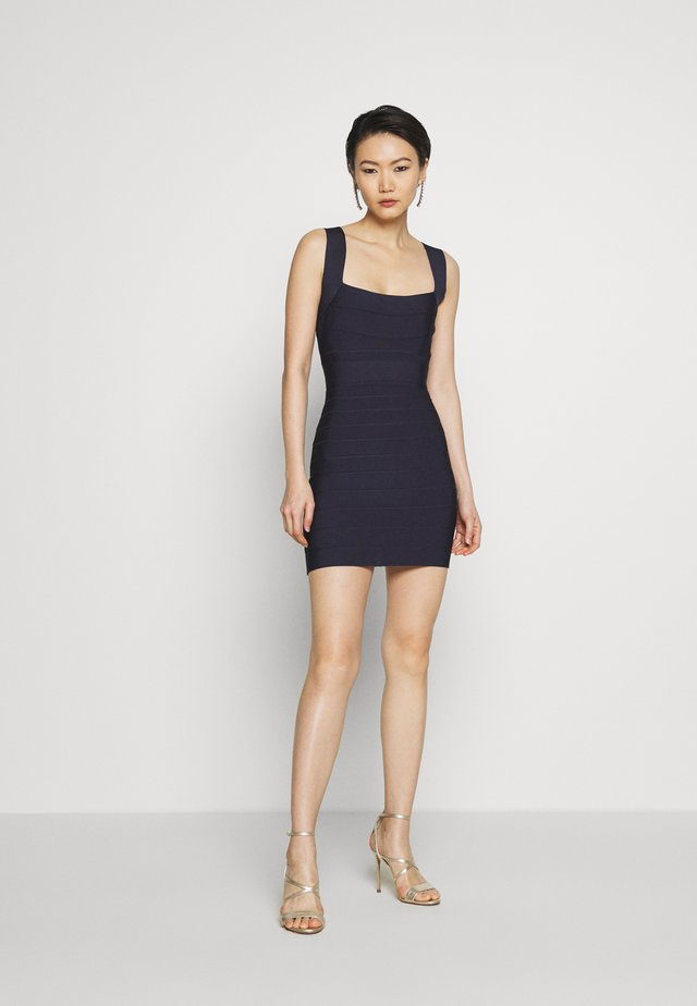 NEW ICON DRESS - Shift dress - dark navy