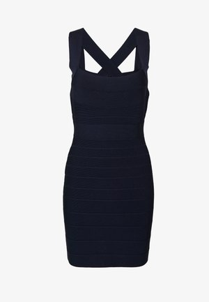 NEW ICON DRESS - Shift dress - dark navy