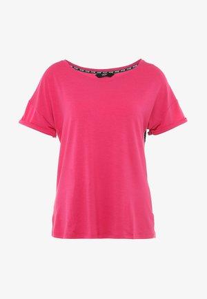 TEE TAPE - T-shirts med print - pink peakock