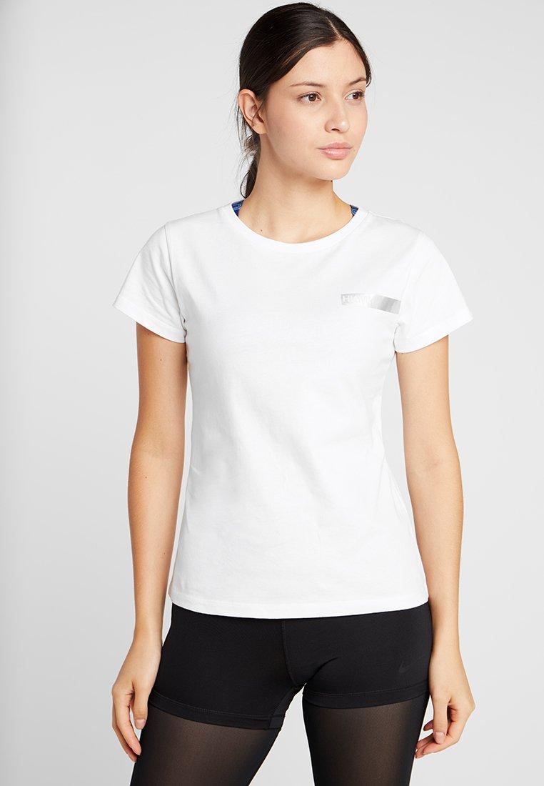 Hunkemöller - REGULAR TEE CORE - T-shirt basic - white