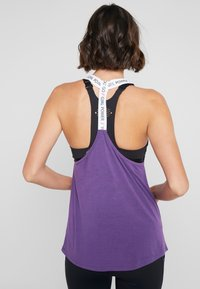 Hunkemöller - STRAPPY TANK TEXT - Top - purple cactus flower - 2