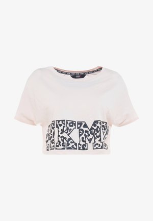 TEE CROP  - T-shirts med print - pink dogwood